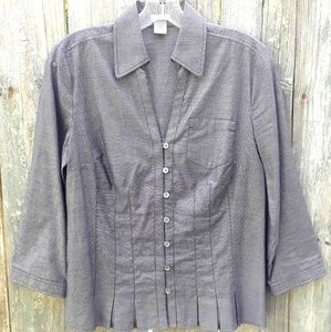 Ann Taylor button up